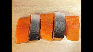 Как засолить красную рыбу. Бутерброды. Мамулины рецепты.