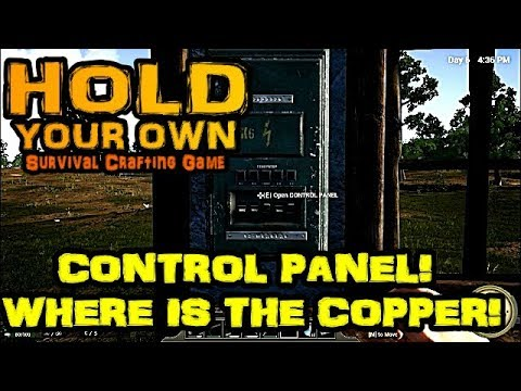 Hold Your Own - E8 - Copper's Worst Nightmare! Control Panel
