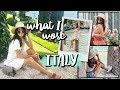 WHAT I WORE: Summer Vacation! Italy Outfits!