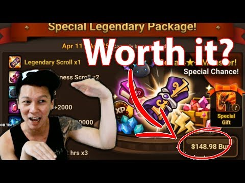 Summoners War - LEGENDARY PACK SUMMONS | Giveaway Results