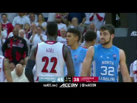 North Carolina vs Louisville College Basketball Condensed Game 2018
