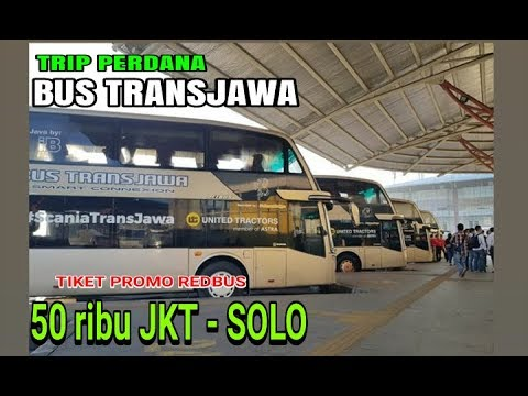50 RIBU Jakarta-Solo BUS TRANS JAWA Scania K-410 Double Decker Putera Mulya Puma's