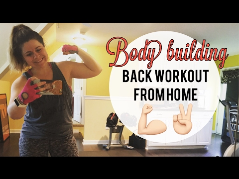 Weight loss journey | Bodybuilding back workout | Home workout