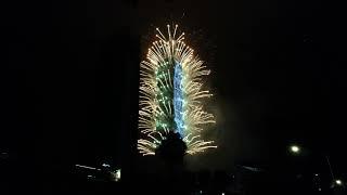 2018.01.01 2018台北101跨年煙火4K(Taipei 101 fireworks)