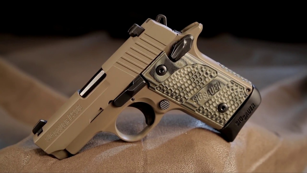 medium resolution of american rifleman television sig sauer p238 scorpion pistol review