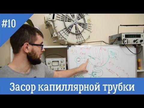 видео: Засор капиллярной трубки