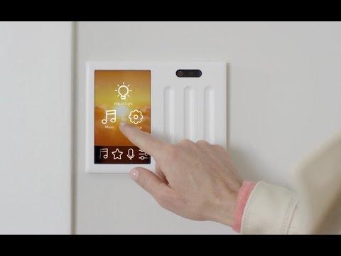 Brilliant smart home light switch