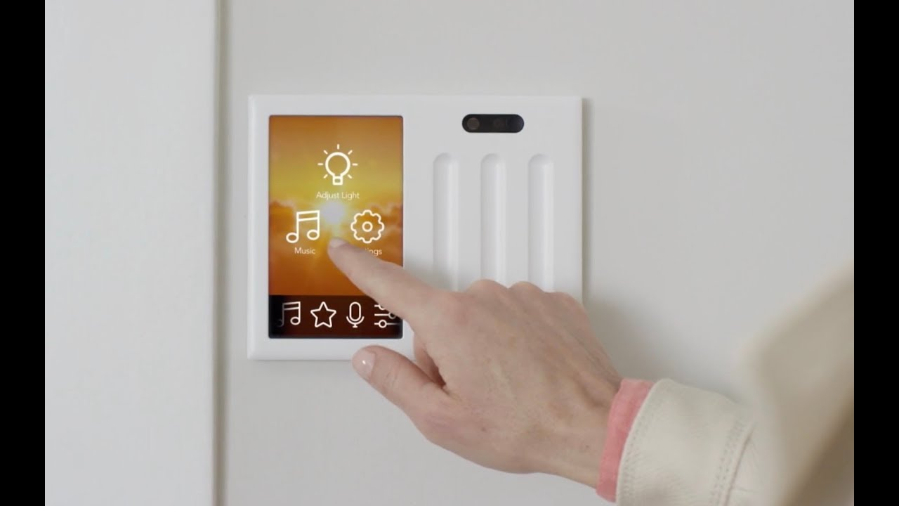 Brilliant smart home light switch - YouTube