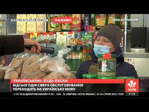 Якою мовою продавці київських магазинів обслуговують покупців?