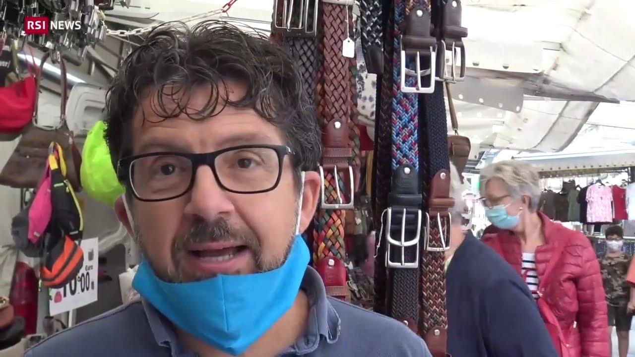Luino, senza svizzeri è crisi   RSI NEWS