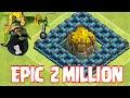 Clash Of Clans 2 MILLION RAID!! (Top 5 series)