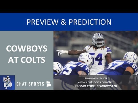 Cowboys vs. Colts 2018 Week 15 Preview, Depth Chart, Injury Report, Top Matchup & Keys To Game