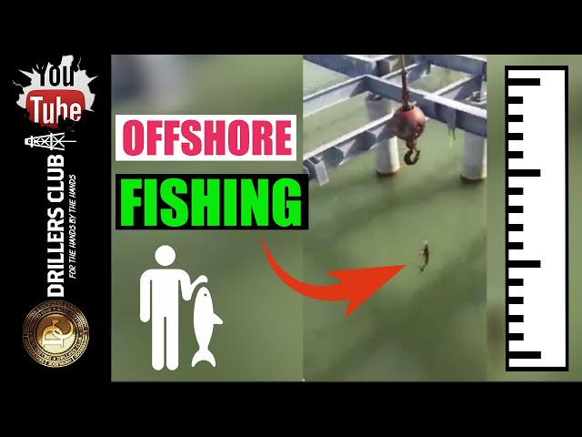 Fishing With Offshore Crane