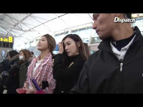 160129 SNSD - Incheon Airport to Thailand