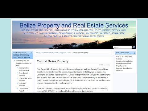 Corozal Belize Property Real Estate Video Tour