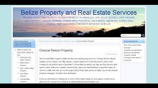 Corozal Belize Property Real Estate Video Tour