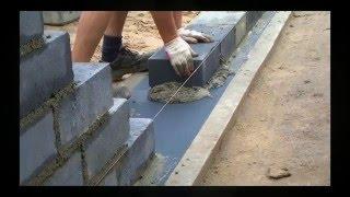 #37 Budowa Domu - Murowanie ściany ...
