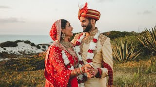 Sonya & Neil | Indian Wedding Highlights | Praia D'El Rey Marriott Resort