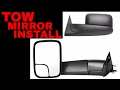 How To Install Tow Mirrors On 2001-2004 Dodge Dakota