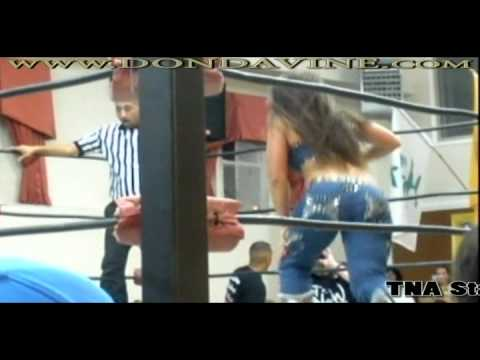 Mickie James In A Never Seen B4 Match