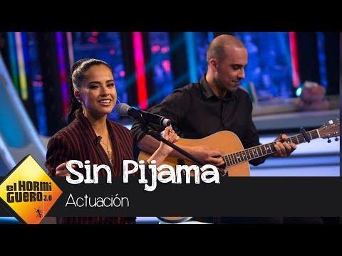 Becky G canta su tema 'Sin Pijama' en acústico en 'El Hormiguero 3.0'