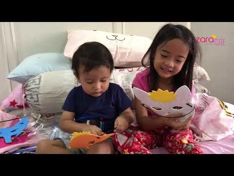 Homeschooling Matematika Bentuk dan Bangunan | DIY Paper Bag | Ciri Khas Hewan | Zara Cute Belajar