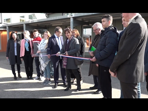 Inauguration des travaux du collège Jean-Moulin de Saint-Paul-lès-Dax