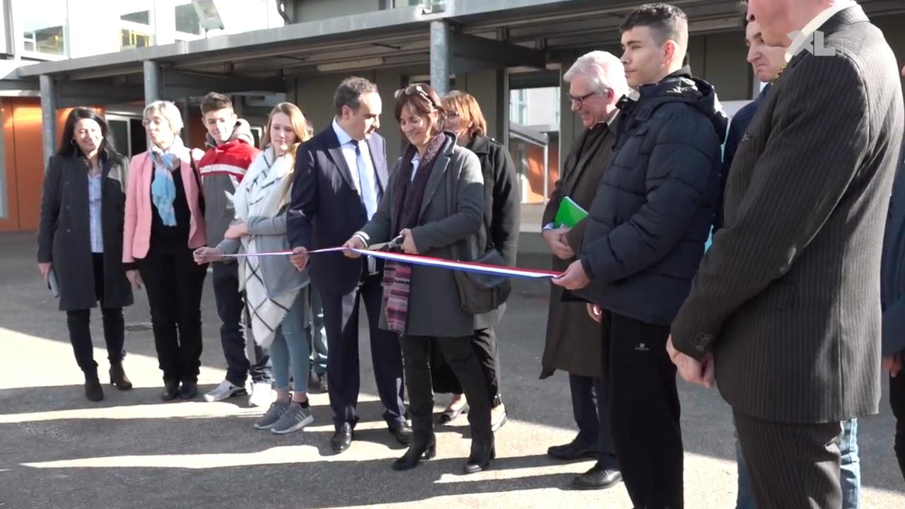 Inauguration des travaux du coll ge jean moulin de saint - Office du tourisme saint paul les dax ...