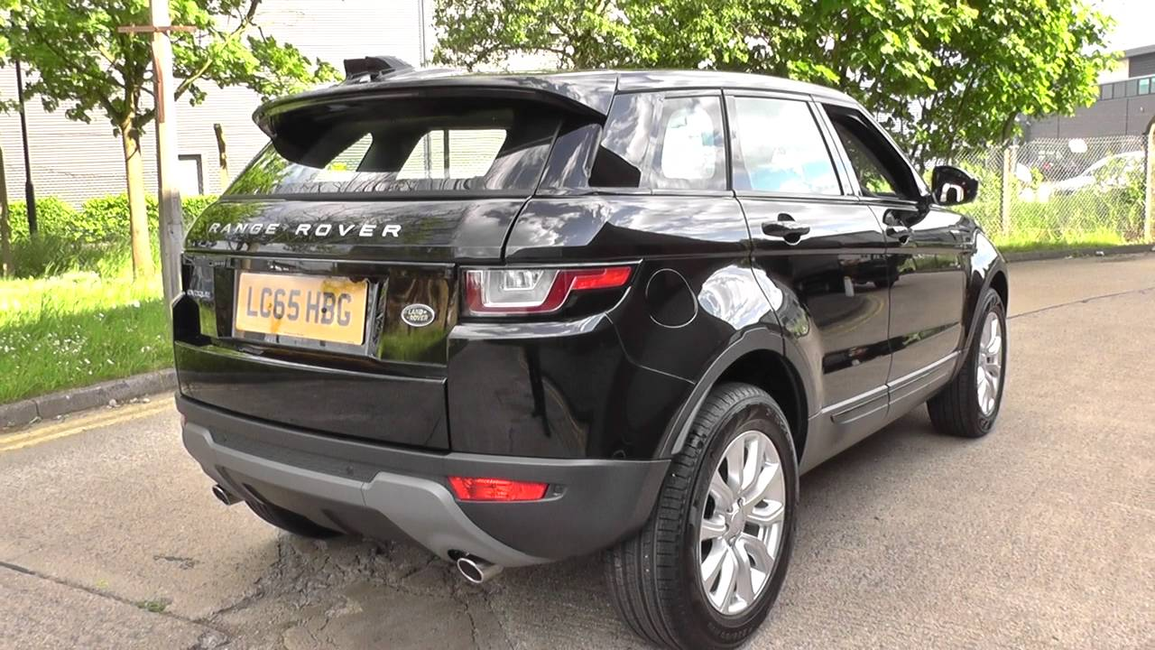land rover range rover evoque 2 0 ed4 se tech 5dr 2wd u70885 youtube. Black Bedroom Furniture Sets. Home Design Ideas