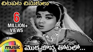 Chitapata Chinukulu Songs | Mokkajonna Thotalo Video Song | Adrushtavanthalu Telugu Movie | ANR