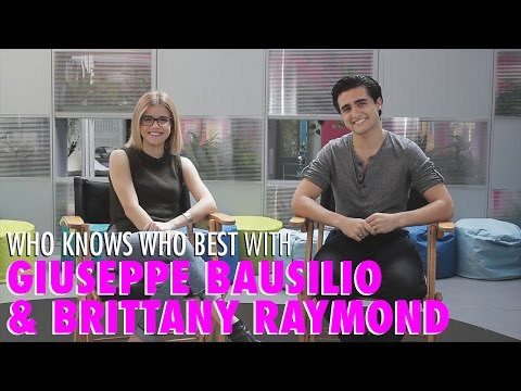 The Next Step's Brittany Raymond & Giuseppe Bausilio Talk Hamilton and Bean Boozled Jelly Beans