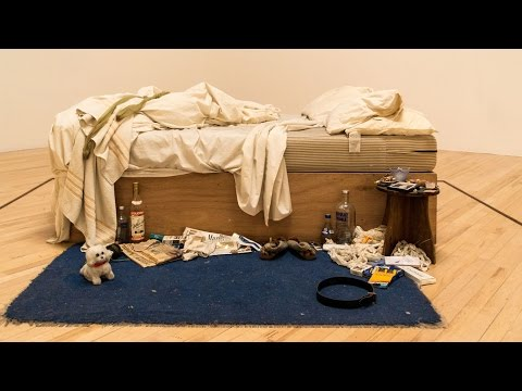 Tracey Emin - My Bed - Tate Britain - London - May 2016