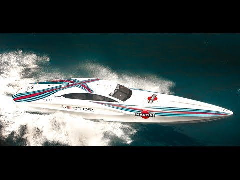 VECTOR Martini Racing Powerboat Monaco Video Felipe Massa Valtteri Bottas CARJAM TV 2014