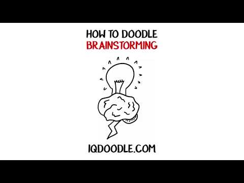 How to Draw Brainstorming (drawing tips)