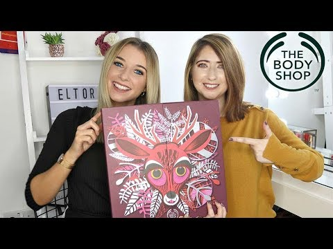 THE BODY SHOP ADVENT CALENDAR 2018 / *MIDDLE ONE* Ft Willow Biggs