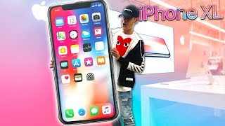 Selling GIANT iPhone X At Apple Store PRANK!