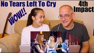 Ariana Grande - No Tears Left To Cry   4TH IMPACT   REACTION