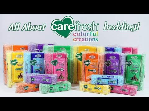All About Carefresh Colorful Creations Bedding!