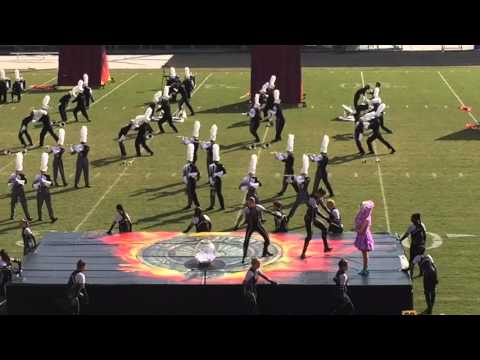 East Coweta HS Marching Band - The Hunger Games 2015