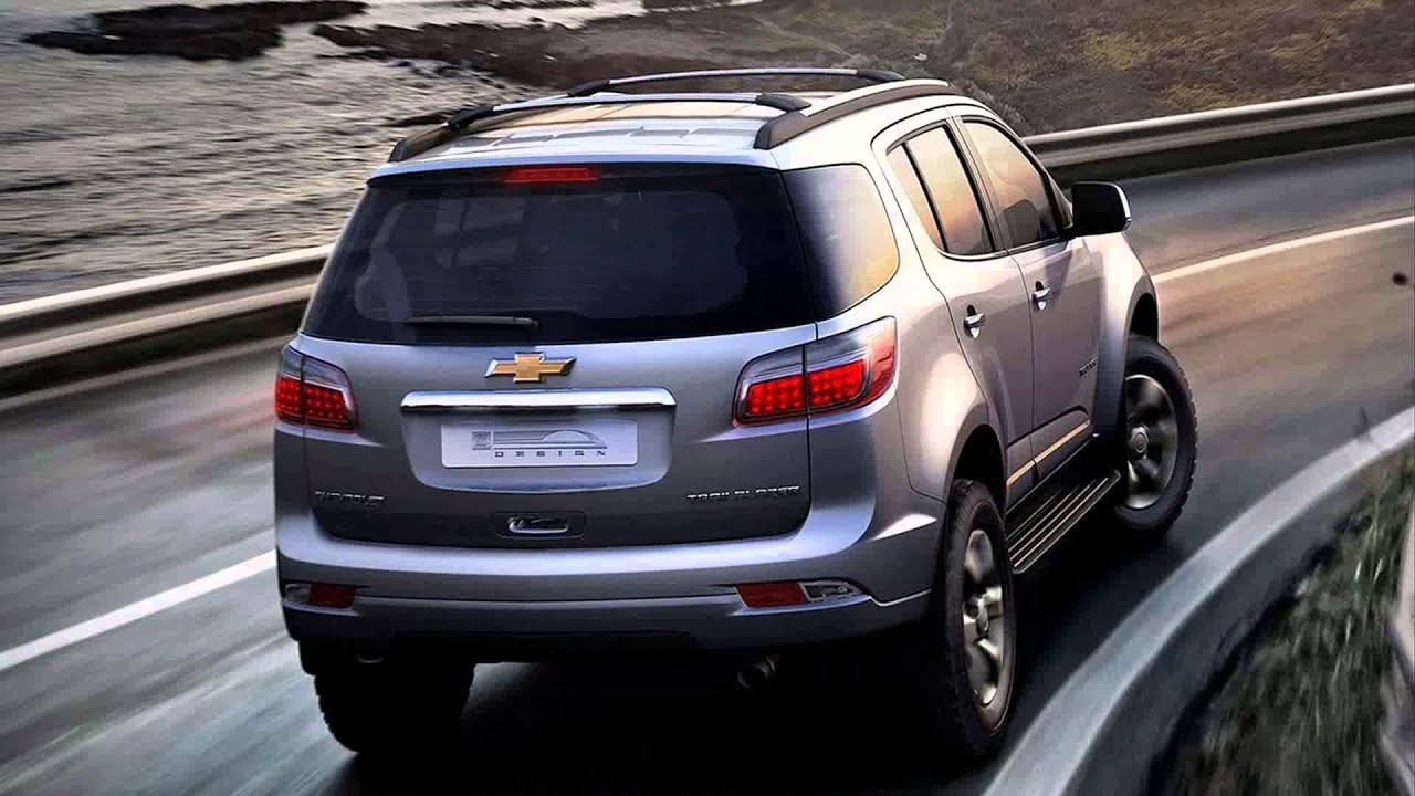 2015 Model Chevrolet Trailblazer Youtube