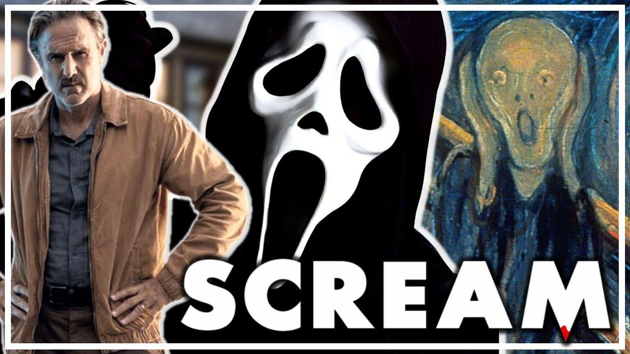 GHOSTFACE ORIGINS IN SCREAM (2022)?   David Arquette shares major details!