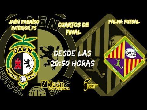 #CopaDelRey #Cuartos - Jaén Paraíso Interior FS vs Palma Futsal