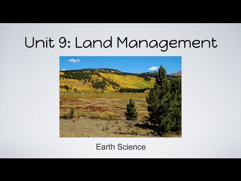 WasleyScience- Land Management
