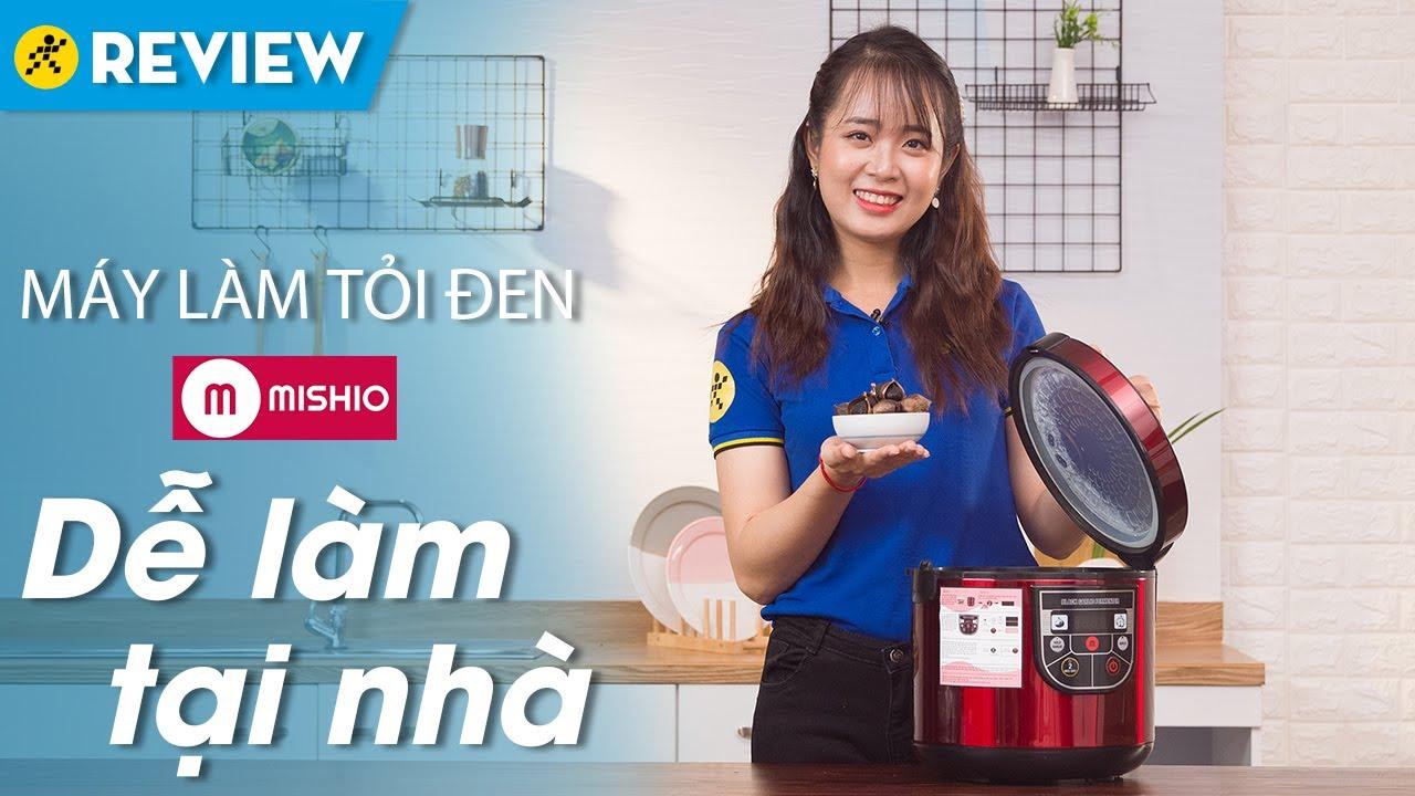 Máy làm tỏi đen Mishio: Làm tỏi đen tại nhà, có sấy khô (MK54) • Điện máy XANH