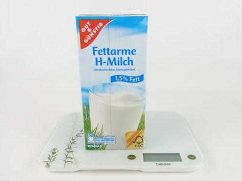 Milch 15 Fett Gut Und Günstig Produktinfo Wieviel Sind 100