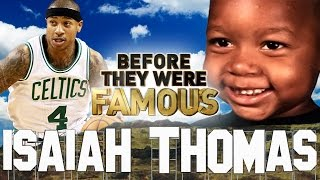 ISAIAH THOMAS - Before They Were Famous - Boston Celtics Point Guard