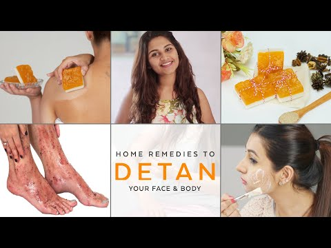 MOST EFFECTIVE SUN TAN REMOVAL | DIY Home Remedies