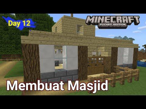 Membuat Masjid Di Minecraft Survival Day-12