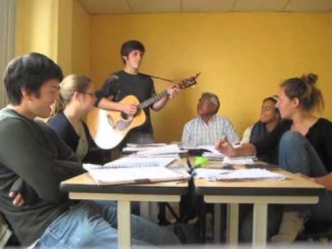 Trent in Ecuador 2010-2011 Kichwa Singalong