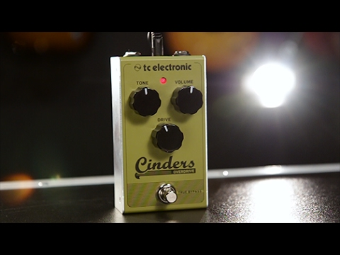 tc electronic cinders overdrive effects pedal youtube. Black Bedroom Furniture Sets. Home Design Ideas